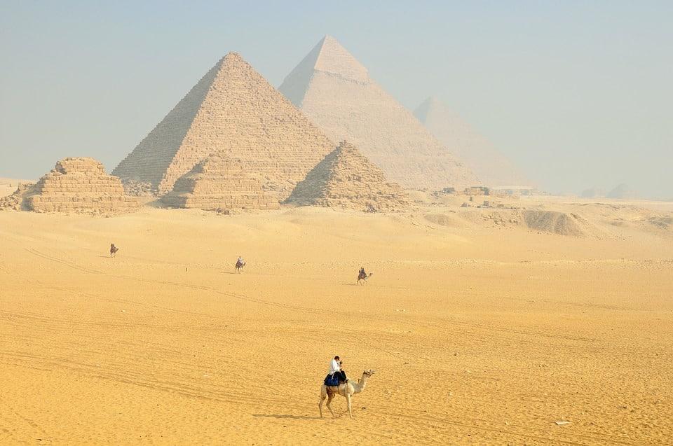 Pyramides de Kheops en Egypte