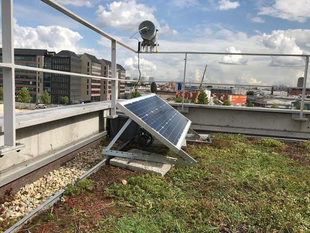 Autonomie solaire suivi de chantier timelapse