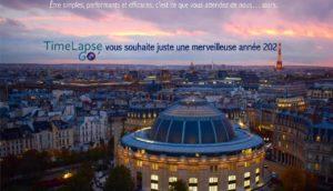 Happy New Year TimeLapse Go' - Bannière