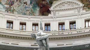 Photo prise pendant l'ouverture de la Bourse de commerce - Collection Pinault
